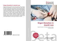 Buchcover von Organ Donation in Jewish Law