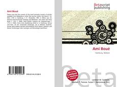 Bookcover of Ami Boué