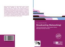 Buchcover von Broadcasting (Networking)