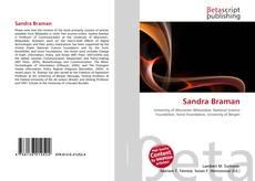Portada del libro de Sandra Braman