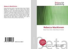 Bookcover of Rebecca MacKinnon