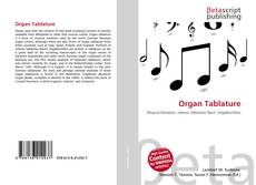 Обложка Organ Tablature