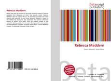 Bookcover of Rebecca Maddern