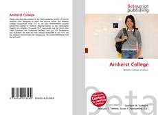 Обложка Amherst College