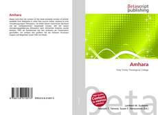 Bookcover of Amhara