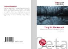 Обложка Tarquin Blackwood