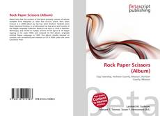 Portada del libro de Rock Paper Scissors (Album)