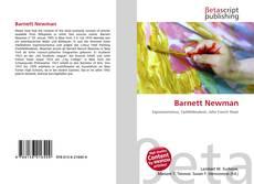 Barnett Newman kitap kapağı