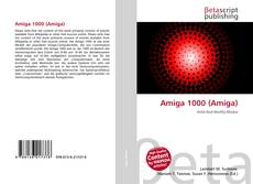 Bookcover of Amiga 1000 (Amiga)