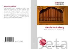Обложка Barnim Grüneberg