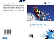 Buchcover von Marginal Factor Cost