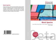 Portada del libro de Black Spectre