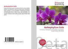 Portada del libro de Bulbophyllum Exile