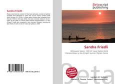 Buchcover von Sandra Friedli
