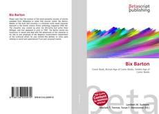Bookcover of Bix Barton