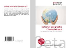 Bookcover of National Geographic Channel Greece