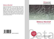 Bookcover of Rebecca Marshall
