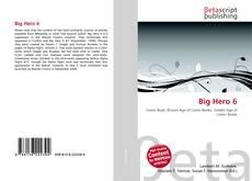 Buchcover von Big Hero 6