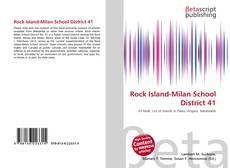 Rock Island-Milan School District 41 kitap kapağı