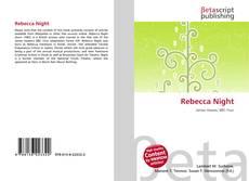 Bookcover of Rebecca Night