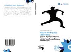 Portada del libro de Rafael Rodríguez (Baseball)