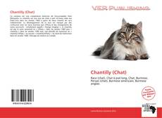 Portada del libro de Chantilly (Chat)