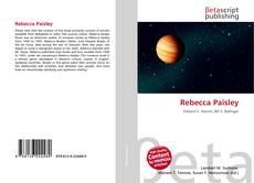 Bookcover of Rebecca Paisley