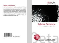 Bookcover of Rebecca Parchment