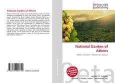 Capa do livro de National Garden of Athens