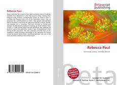 Bookcover of Rebecca Paul