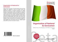 Bookcover of Organisation of National Ex-Servicemen