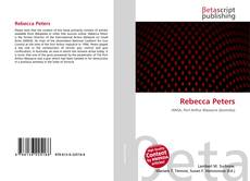 Bookcover of Rebecca Peters