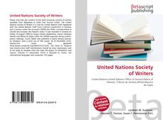 Borítókép a  United Nations Society of Writers - hoz