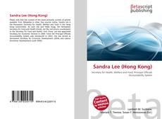 Sandra Lee (Hong Kong) kitap kapağı