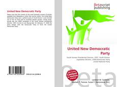 Bookcover of United New Democratic Party