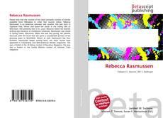 Bookcover of Rebecca Rasmussen