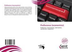 Bookcover of Preference (economics)
