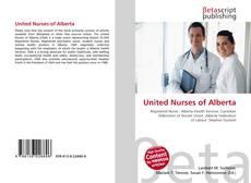 Bookcover of United Nurses of Alberta