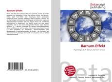 Buchcover von Barnum-Effekt