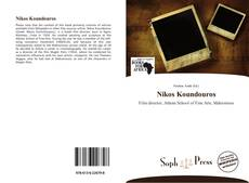 Capa do livro de Nikos Koundouros