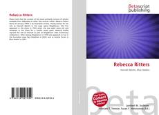 Bookcover of Rebecca Ritters