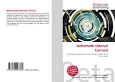 Portada del libro de Behemoth (Marvel Comics)