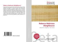 Couverture de Rebecca Robinson (Neighbours)