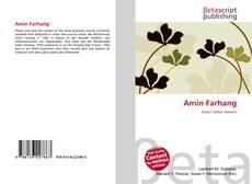 Bookcover of Amin Farhang