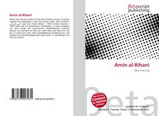 Bookcover of Amin al-Rihani