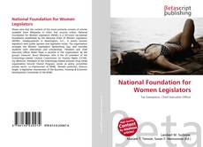 Borítókép a  National Foundation for Women Legislators - hoz