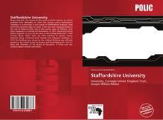 Portada del libro de Staffordshire University