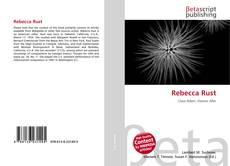 Bookcover of Rebecca Rust