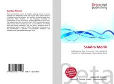 Couverture de Sandra Morin