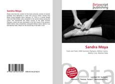 Portada del libro de Sandra Moya